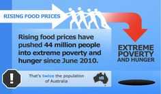 The Food Price Rollercoaster. Infographic part two from the World Food Programme http://www.wfp.org/stories/rising-food-prices-infographic#