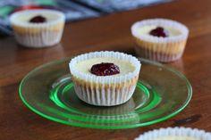 Mini Lemon Cheesecakes With Almond Cookie Crust #client #IBS #FODMAP #lowfodmap