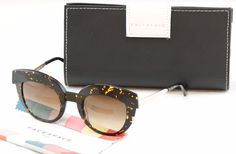 Face A Face Sunglasses Dolce 1 2056 Spotted Tortoise Plastic Italy Hand Made #FaceAFace #Round