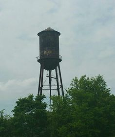 Old water tower in Henderson NC . Aesthetic Rooms, Water Tower, Jojo Bizzare Adventure, Water Tank, Crusaders, Towers, North Carolina, Kai, Tanks