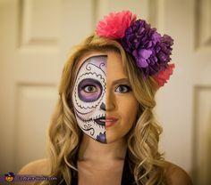 Sugar Skull - Halloween Costume Contest via @costume_works