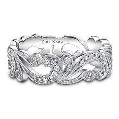 Kirk Kara .35 carat platinum and diamond band (SS6769-B)... A cute right wedding band!