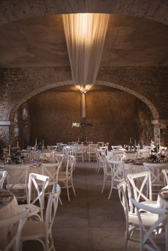 Gorgeous setting for the wedding dinner at the Stanjel castle, Slovenia. This place is so beautiful and the table setting is perfect!