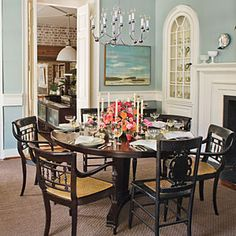 Southern-Style Decorating   A Well-Set Table   SouthernLiving.com