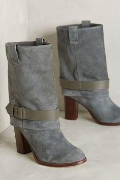 Splendid Delora Mid-Boots Dark Grey Boots #anthrofave