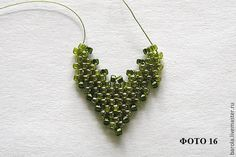 """Pendant """"Roses"""" ___ Made of 3 Flowers, Leaves, and Base. __________________________Leaves has 7 Photos and 1 Diagram ___  Leaves Photo 05"""