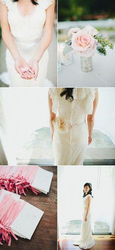 Calamigos Ranch Wedding by Eents of Loe and Splendor Cute Wedding Dress, Fall Wedding Dresses, Colored Wedding Dresses, Wedding Dress Styles, Perfect Wedding, Wedding Events, Our Wedding, Dream Wedding, Weddings