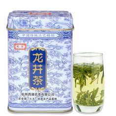 Longjing green tea Longjing tea leaves spring new green tea before rain authentic 50g with gift canned healthy food