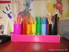 Crayon holder - DIY