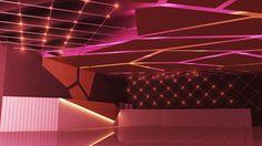 Proycto para Interior de local bailable, Diseñador Ignacio Stesina para SINTAGMA estudio