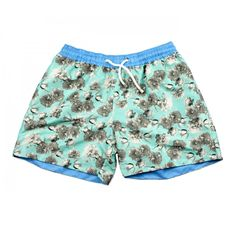 These 'Bora Bora' swim shorts are named after the best beach party destination in Ibiza. Tropical Colors, Floral Shorts, Bora Bora, Ss 15, Beach Party, Swim Shorts, Workout Shorts, Best Part Of Me, Ibiza