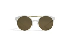 MYKITA - DECADES SUN / PHILOMENE / Gold/ Talc Lens: Brilliantgrey Solid