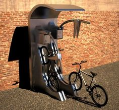 Bicycle Security, Grant Howarth, modular, billboard, bicycle parking slots