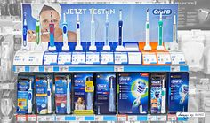 Oral B display by ARNO Group
