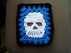Ravelry: Skully Square pattern by Janie Laswell