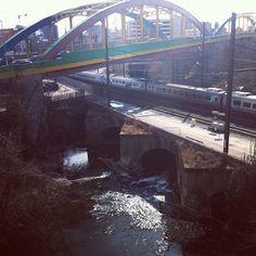The Rainbowbridge in Baltimore Maryland