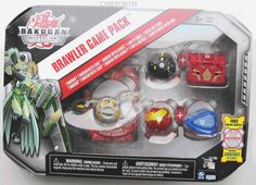Another rare one! Bakugan Game Pack Gray COBRAKUS 5 Brawler Set Gundalian Invaders USA 2010 Sealed #SpinMaster #Bakugan #Cyberontix