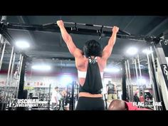 Kevin English Trains Dana Linn Bailey - Back Workout - Part 1