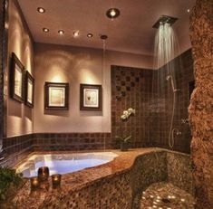 I could live with it... (I adore the grotto feel and the water coming from the ceiling for the tub lm)