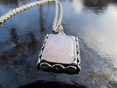 il gioiello pazzo: catenine con base in acciaio e resina colorata