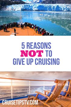 5 reasons why NOW is not the time to give up on cruise travel. Cruise Tips, Cruise Travel, Carry On Suitcase, One Back, Family Camping, Giving Up, First Love, Sailing, Romance
