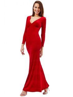 Robe rouge pour le nouvel an