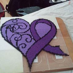 Heart hama beads by ciciliemischelle