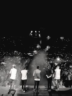 Be proud of them. Respect them. They are also human beings. They also have feelings. They also need privacy. They also need space. That's the only way that we can thank them for what they have done for us: by loving, respecting and supporting our boys❤