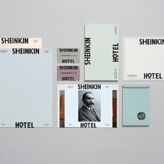 Sheinkin Hotel Branding by Studio Ross
