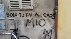 on the wall Silly Love, Italian Quotes, Art Society, Love Phrases, Star Wall, You're Awesome, Graffiti, Street Art, Lol