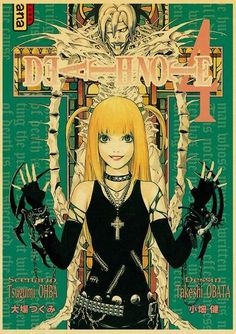 Death Note Posters Retro Posters - Q045 10