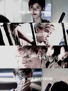 """Thomas Brodie-Sangster as Newt in """"The Maze Runner"""" Maze Runner Quotes, Maze Runner Funny, Maze Runner Trilogy, Maze Runner Thomas, Maze Runner The Scorch, Maze Runner Cast, Maze Runner Movie, Maze Runner Series, Thomas Brodie Sangster"""