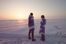 Katara and Sokka in the Southern Watertribe cosplay