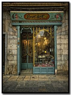 Girona,  Catalunya. What a charming storefront!