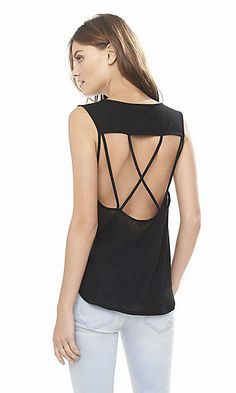 one eleven strappy back tank