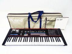 MATRIXSYNTH: Roland JX-3P Vintage Analog Synthesizer w/ Bag & M...