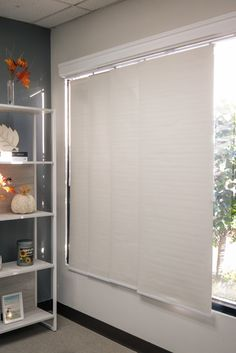 These blinds block-out the sun & light from outside. Blinds For Windows Living Rooms, Blackout Shades, Balcony Doors, Sliding Panels, Sun Light, Room Darkening, French Doors, Divider, Patio