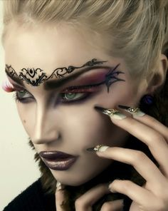 Cool Makeup on Pinterest Fairy Makeup Fairy Costume - Cool Costume Makeup