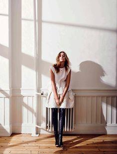 Nadja Bender x Vogue Spain - http://www.collagevintage.com/2015/07/nadja-bender-x-vogue-spain/