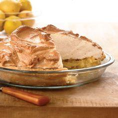 Chunky Lemon Meringue Pie | MyRecipes.com