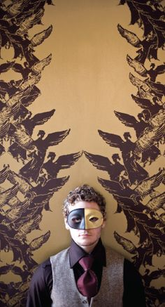 Jill Malek- what a fantastic textile and wallpaper designer- this one is Aphrodite