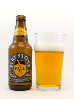 """Firestone """"Pale 31""""  86B+     This West Coast-style Pale Ale is devoted to California, the 31st state added to the union. Aromas are f..."""