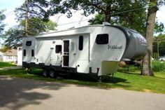 Camping at Dutch Treat, Zeeland, Michigan