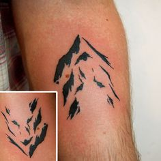 Mountain/Wolf (not my design) by Jessica Channer at Tattoo People ...