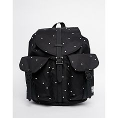fa256890db Herschel Supply Co Dawson Backpack in Polka Dot ( 80) ❤ liked on Polyvore  featuring