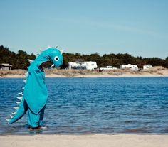 Perfect Halloween costume: Loch Ness Sea Monster