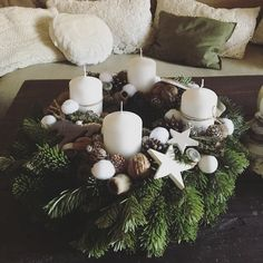 Christmas Tree Design, Christmas Makes, Winter Christmas, Christmas Time, Christmas Wreaths, Christmas Decorations, Xmas, Holiday, Advent Wreath