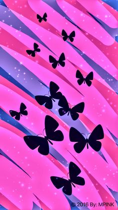 Butterfly Garden Wallpaper Created By Me