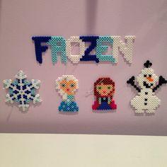 Disney eingefroren Perler Perlen set Christmas Ornament mit Elsa, Anna, Olaf & mehr