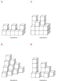 Bouwhoek - 3 dimensionaal voorbeeldkaarten Juf Sanne